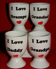 BN Boxed Fine Bone China Egg Cup Daddy Grandad Grandpa Gramps Egg Cup, dad gift