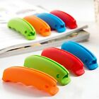 Silicone Shopping Bag Basket Carrier Grocery Holder Handle Comfortable Grip SY