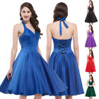 New Vintage1950s style Butterfly Pin-up Party Swing Dress Housewife Party Dress