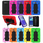 "Hybrid Armor Case Cover Kickstand For Samsung Galaxy Tab 2 3 4 7 7.0 7"" E Lite"