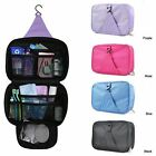 Travel Portable Hanging Cosmetics Make Up Bag Wash Storage Organizer Zipper Case