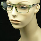 Clear lens glasses fake eye wear fashion hipster frame style nerd