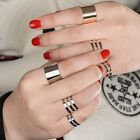 3Pcs/set Fashion Silver Plated Open Ring Set Women Adjustable Jewelry Decoration