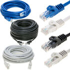Cat5e Cat6 Ethernet Internet LAN Network Cable Modem Router Blue White Black Lot