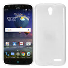 Clear Slim Solid Matte TPU Style Protector Cover Phone Case ZTE Chapel Z831