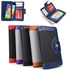 Unisex Protective Smart Phone Wallet Case w/ Built In Screen Protector SMENBA-4
