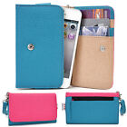 Two-Tone Protective Wallet Case Clutch Cover for Smart-Phones ESAMMT-6