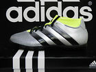 NEW ADIDAS ACE 16.3 Primemesh Turf Soccer shoes - Silver/Black;  AQ3428
