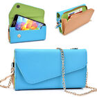Womens PU Leather Wallet Case Cover & Crossbody Clutch for Smart-Phones MLUB3