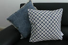 Jasper Diamond and Jasper Canvas Filled Cushion