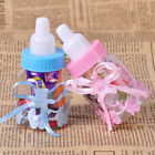 12x Baby Candy Bottle Box Shower Baptism Christening Birthday Gift Party Favors