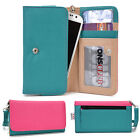 Protective Wallet Case Clutch Cover & Organizer for Smart-Phones KroO ESMT38