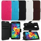 Flip Leather Stand Wallet Cover Case Skin For Samsung Galaxy S5 Mini G800 G906