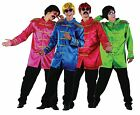 Mens 1960s 60s Sargent Pepper Musician Stag Do Fancy Dress Costume Outfit