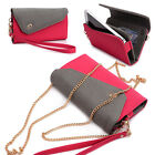 Womens Link Wallet Case & Crossbody Clutch Cover for Smart Cell Phones CRWL9