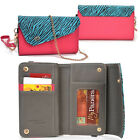 Lady Link Wallet Case & Crossbody Clutch Cover for Smart-Cell-Phones CRSL1
