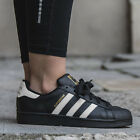 * adidas Originals Superstar Foundation J Youths Junior Trainers Sizes 3 - 5.5