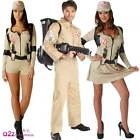 Mens Adult Ladies Ghostbuster Ghostbusters Fancy Dress Costume Outfit BackPack