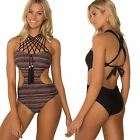 Sheridyn Swimwear  Bohemian One Piece Swimsuit, Removable Pads, Scrunch