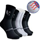 VeloChampion Speed Line Coolmax Cycling Socks - Pack of 3 Pairs Black or White