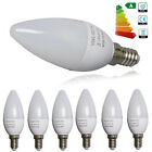 1/24X Dimmable 5W E14 SES LED SMD Candle Light Bulbs Spotlight Warm / Day White