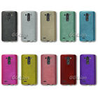 Brushed TPU Gel Cover Case for LG G3 Dual-LTE D856 F400S D855 D851 D852