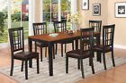 7 Piece Dining Room Table Set-kitchen tables Plus 6 kitchen chairs