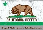 CALIFORNIA REEFER BEAR HOODED SWEATSHIRT ALL SIZES AND COLORS NEW
