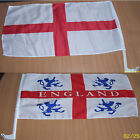 Car Flag - Choice of St. George or England - Easily Attaches to Your Car