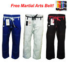 BJJ BRAZILIAN Jiu-Jitsu Uniform GI competition pants only B SIZE 3 4 5 6 mma ufc