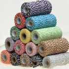 Cotton Baker's Twine Cotton String Cord Cafts Cotton Thread Cord 100 Yards