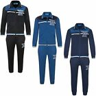 Kids Tracksuit Boys Girls University 86 Print Zipped Top Jogging Bottoms 7-16 Y
