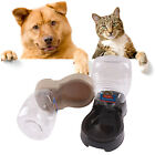 Automatic Pet Dog Cat Puppy Water Dispenser Food Dish Bowl Feeder Tray Tool NEW