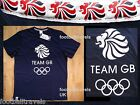 S M L XL XXL TEAM GB NAVY OLYMPIC GAMES COTTON T SHIRT Mens Womens New tags