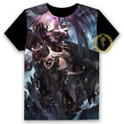 Anime Black Rock Shooter BRS Unisex T-shirt HD Printing Cosplay Tee Tops#58-H64