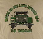 Where do old Land Rover 4 x4 Four By Four Off Road  T-Shirt Ideal Gift