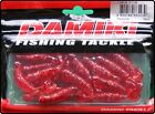 Damiki 2 Inch Soft Paddle Tail Jelly Worms Artificial Fishing Bait - 16 Pack