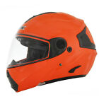 AFX FX-36 Modular Solid Orange Full Face Motorcycle Riding Helmet