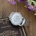 New Fashion Womens Luxury Crystal Bear Watches Stainless Steel Quartz Wristwatch