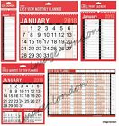 2018 Wall Calendar Slim Calender, Large Month to View Planner,Easy View Calendar