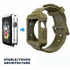 Rugged BAND Apple Watch +Band Ultimate Shock Protection Case for Watch 38mm/42mm