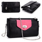 Womens Fashion Smart-Phone Wallet Case Cover & Crossbody Purse EI65-6