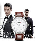 Nary Men Automatic Mechanical Watch Casual Calendar Waterproof Leather Band S213