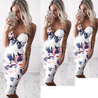 Women Summer Bandage Bodycon Floral Evening Party Cocktail Fit Short Mini Dress