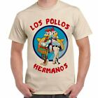 T-Shirt Serie TV Breaking Bad Maglietta Uomo Con Stampa Los Pollos Hermanos