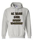 Pullover Hooded hoodie sweatshirt unique Joke is over bring back Constitution