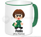 Personalised Gift Female Paramedic Mug Cup Emergency Service Staff Present #8