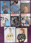 Robin Knitting Patterns Childs Sweaters Cardigans - Choose from Drop-down Menu