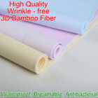 70x50cm 3D Bamboo Fiber Waterproof Changing Mat Breathable Children Urine Pad