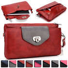 Womens Fashion Smart-Phone Wallet Case Cover & Evening Purse EI64-14